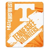 "Tennessee ""Painted"" Fleece Throw"