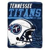 "Tennessee Titans NFL ""40 yard Dash"" Micro Raschel Throw"