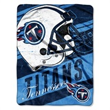 "Tennessee Titans NFL ""Deep Slant Micro Raschel Throw"
