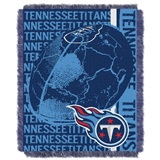 "Tennessee Titans NFL ""Double Play"" Woven Jacquard Throw"