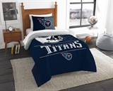 "Tennessee Titans NFL ""Draft"" Twin Comforter Set"