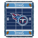 "Tennessee Titans NFL ""Field"" Baby Woven Jacquard Throw"