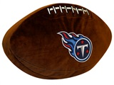 Tennessee Titans NFL Football Shaped 3D Pillow