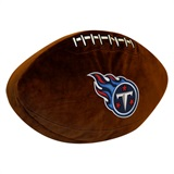 Tennessee Titans NFL  Football Shaped 3D Plush Pillow