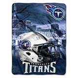 "Tennessee Titans NFL ""Heritage"" Silk Touch Throw"