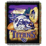 "Tennessee Titans NFL ""Home Field Advantage"" Woven Tapestry Throw"