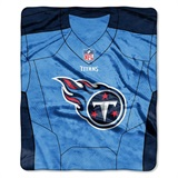 "Tennessee Titans NFL ""Jersey"" Raschel Throw"