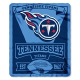 "Tennessee Titans NFL ""Marquee"" Fleece Throw"