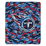 "Tennessee Titans NFL ""Quicksnap"" Raschel Throw"