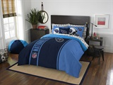 "Tennessee Titans NFL ""Soft & Cozy"" Full Comforter Set"