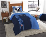 "Tennessee Titans NFL ""Soft & Cozy"" Twin Comforter Set"