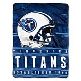 "Tennessee Titans NFL ""Stacked"" Silk Touch Throw"