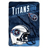 "Tennessee Titans NFL ""Stagger"" Micro Raschel Throw"