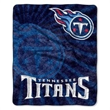 "Tennessee Titans NFL ""Strobe"" Sherpa Throw"