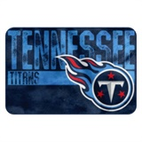 "Tennessee Titans NFL ""Worn Out"" Bath Mat"
