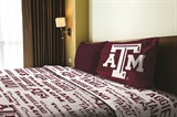 "Texas A&M ""Anthem"" Twin Sheet Set"
