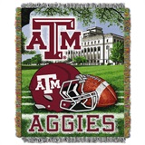 "Texas A&M ""Home Field Advantage"" Woven Tapestry Throw"