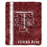 "Texas A&M ""Jersey"" Sherpa Throw"