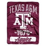 "Texas A&M ""Varsity"" Micro Raschel Throw"