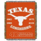 "Texas ""Commemorative"" Woven Tapestry Throw"