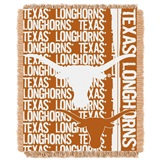 "Texas ""Double Play"" Woven Jacquard Throw"