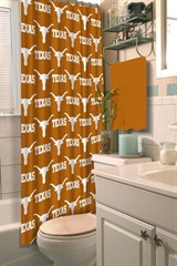 Texas Longhorns NCAA Shower Curtain
