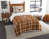 "Texas Longhorns NCAA ""Soft & Cozy"" Twin Comforter Set"