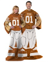 "Texas Longhorns NCAA ""Uniform"" Comfy Throw"