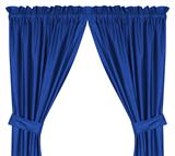 Texas Rangers  Drapes (Pair)
