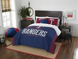 "Texas Rangers MLB ""Grand Slam"" FullQueen Comforter Set"