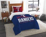 "Texas Rangers MLB ""Grand Slam"" Twin Comforter Set"
