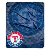"Texas Rangers MLB ""Retro"" Raschel Throw"