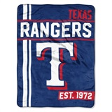 "Texas Rangers MLB ""Walk Off"" Micro Raschel Throw"