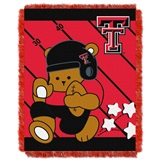 "Texas Tech ""Fullback"" Baby Woven Jacquard Throw"