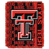 "Texas Tech Red Raiders ""Double Play"" Woven Jacquard Throw"