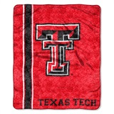 "Texas Tech Red Raiders ""Jersey"" Sherpa Throw"