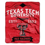 "Texas Tech Red Raiders ""Label"" Raschel Throw"