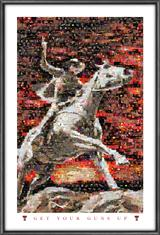 Texas Tech Red Raiders Rider Mosaics