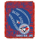 "Toronto Blue Jays MLB ""Double Play"" Woven Jacquard Throw"