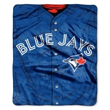"Toronto Blue Jays MLB ""Jersey"" Raschel Throw"