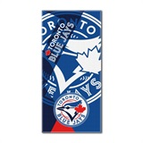 "Toronto Blue Jays MLB ""Puzzle"" Beach Towel"