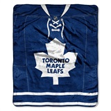 "Toronto Maple Leafs NHL ""Jersey"" Raschel Throw"
