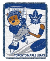 "Toronto Maple Leafs NHL ""Score Baby"" Baby Woven Jacquard Throw"