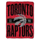"Toronto Raptors NBA ""Clear Out"" Micro Raschel Throw"