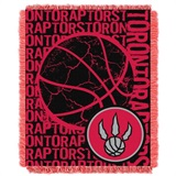 "Toronto Raptors NBA ""Double Play"" Woven Jacquard Throw"