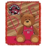 "Toronto Raptors NBA ""Half-Court"" Baby Woven Jacquard Throw"