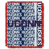 "UCONN Huskies NCAA ""Double Play"" Woven Jacquard Throw"
