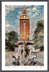 University of Texas  The Tower Mosaic