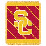 "USC ""Fullback"" Baby Woven Jacquard Throw"
