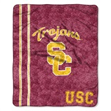 "USC ""Jersey"" Sherpa Throw"